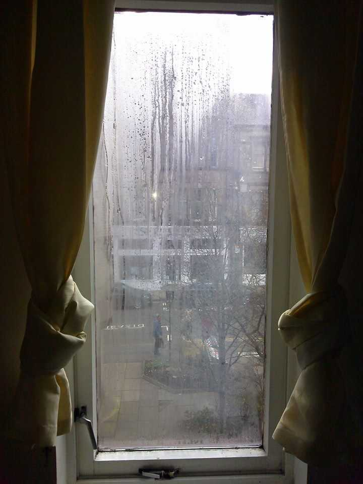 window and rain