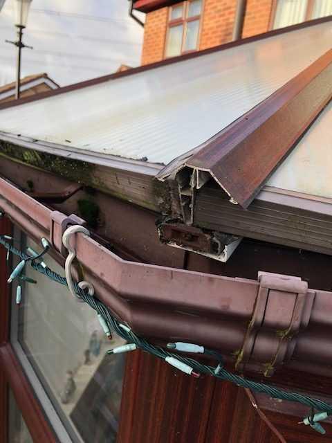 conservatory repair warrington