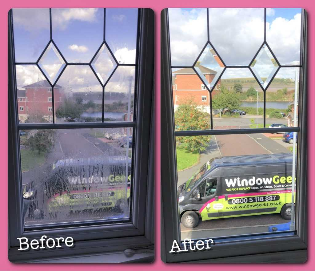 misted up windows warrington