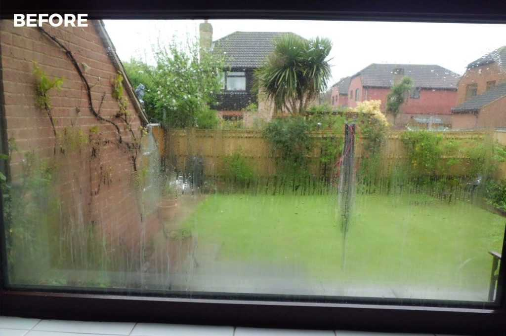 condensation inside glass panes